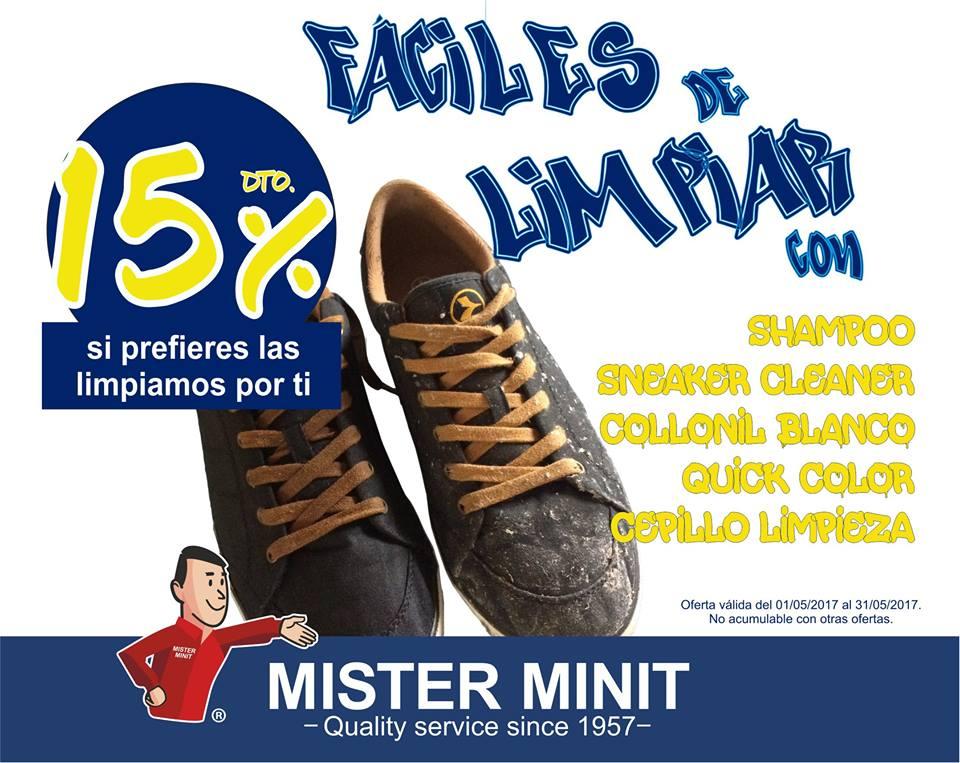 15% de descuento en producto y servicio de limpieza