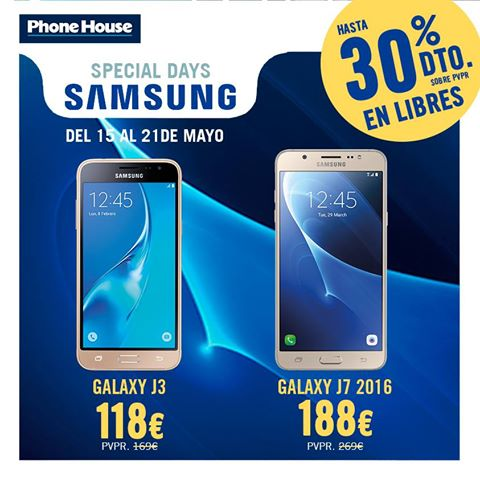 Special Days De Samsung En Phone House