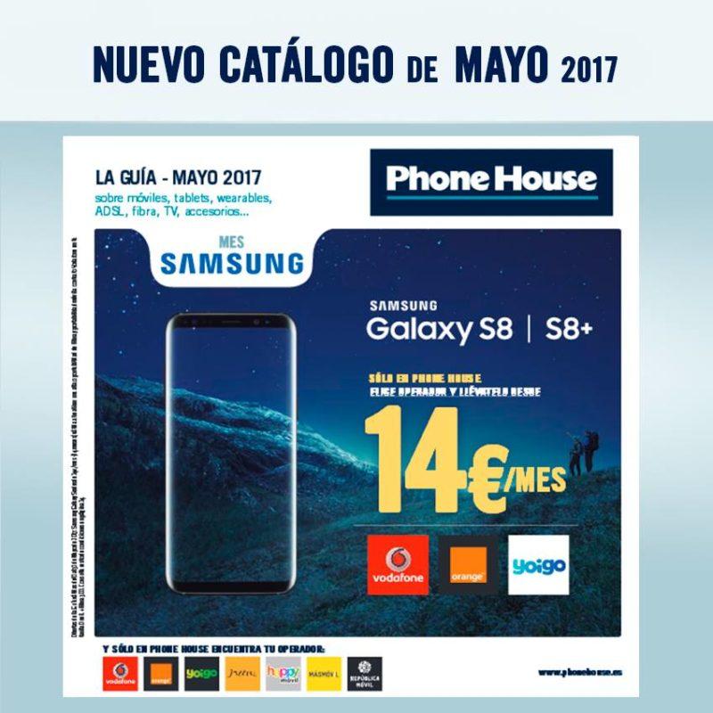 Samsung S8 por 14€/mes