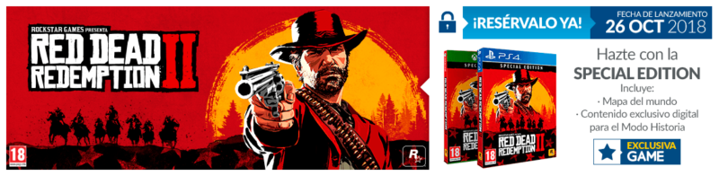 GAME red dead regalo